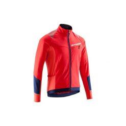Kurtka na rower 500. Czerwone kurtki męskie B'TWIN. W wyprzedaży za 119.99 zł.