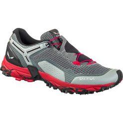 """Buty sportowe """"Ultra Train 2"""" w kolorze szaro-czerwonym. Czerwone buty sportowe męskie Salewa Adults, z materiału. W wyprzedaży za 308.95 zł."""