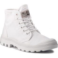 Trapery PALLADIUM - Pampa Hi Orginale Tc 75554-101-M White/White. Białe śniegowce i trapery męskie Palladium, z materiału. W wyprzedaży za 249.00 zł.