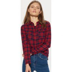 Koszula w kratę - Czerwony. Czerwone koszule damskie Cropp. Za 49.99 zł.