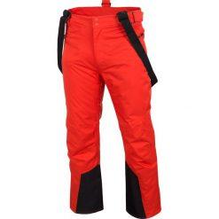 Spodnie narciarskie męskie SPMN251 - czerwony. Spodnie snowboardowe męskie marki WED'ZE. Za 399.99 zł.