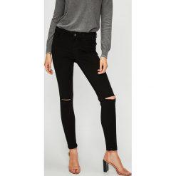 Vero Moda - Jeansy. Czarne jeansy damskie Vero Moda. Za 149.90 zł.