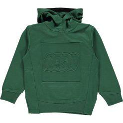 """Bluza """"Sebastian 601"""" w kolorze ciemnozielonym. Zielone bluzy dla chłopców marki LEGO Wear, z nadrukiem. W wyprzedaży za 92.95 zł."""