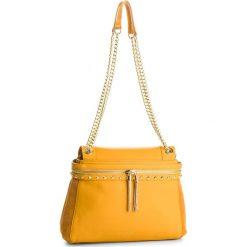 Torebka TWINSET - Cecile Media OA8TC1 Ocra Scuro 03023. Żółte torebki do ręki damskie Twinset, ze skóry. Za 1,589.00 zł.