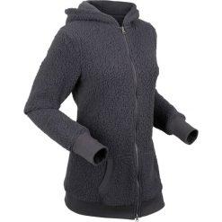 """Bluza z polaru """"baranek"""", długi rękaw bonprix szary łupkowy. Bluzy damskie marki KALENJI. Za 129.99 zł."""