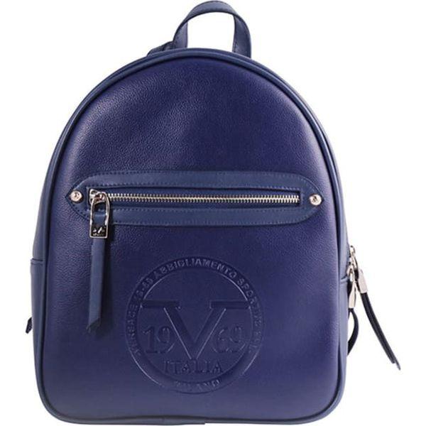 1880c6a393886 Plecak w kolorze granatowym - (S)25 x (W)30 x (G)10 cm - Niebieskie ...