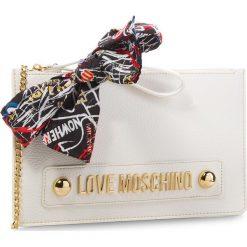 Torebka LOVE MOSCHINO - JC4124PP16LV0100  Bianco. Białe torebki do ręki damskie Love Moschino, ze skóry ekologicznej. W wyprzedaży za 469.00 zł.