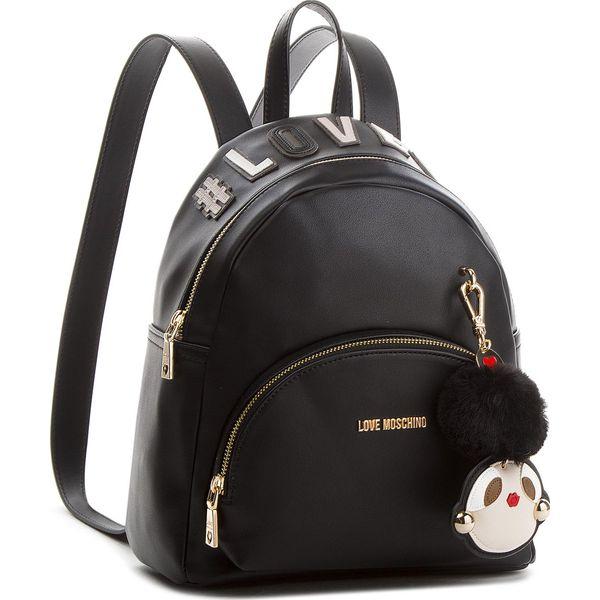 c4c9c638b0164 Plecak LOVE MOSCHINO - JC4072PP16LK0000 Nero - Czarne plecaki ...