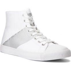 Trampki CALVIN KLEIN JEANS - Antani SE8591 White/Silver. Białe trampki męskie Calvin Klein Jeans, z gumy. Za 569.00 zł.