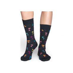 Skarpetki Happy Socks  PAB01-9001. Czerwone skarpety męskie Happy Socks, z bawełny. Za 24.43 zł.