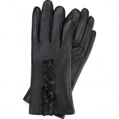 Rękawiczki damskie 39-6-534-1. Czarne rękawiczki damskie Wittchen. Za 165.00 zł.