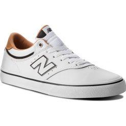 Tenisówki NEW BALANCE - NM255WBL Biały. Białe trampki męskie New Balance, z gumy. W wyprzedaży za 279.00 zł.