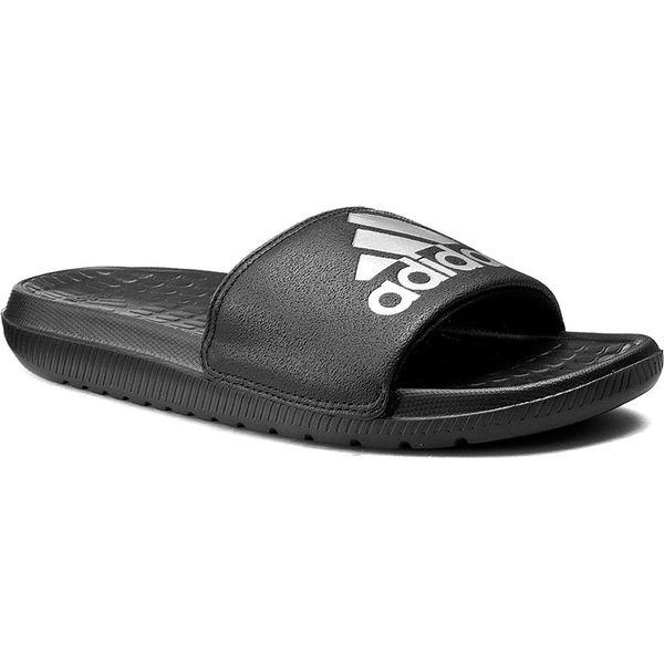 save off 38bf0 34bf1 Klapki adidas - Voloomix AQ5897 CblackSilvmtCblack - Klapki