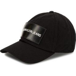 Czapka z daszkiem CALVIN KLEIN JEANS - J K40K400258 008. Czarne czapki i kapelusze damskie Calvin Klein Jeans, z bawełny. Za 159.00 zł.