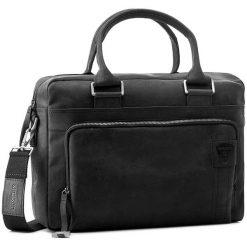 Torba na laptopa STRELLSON - Richmond 4010001265 Black 900. Czarne torby na laptopa męskie Strellson, z nubiku. W wyprzedaży za 529.00 zł.