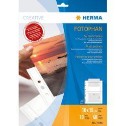 Herma Koszulki na dokumenty 100 x 150 mm / 10 sztuk (7586). Szare t-shirty i topy dla dziewczynek Herma. Za 26.54 zł.