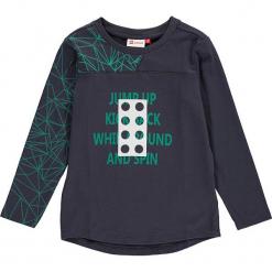 """Koszulka """"Thomas 602"""" w kolorze antracytowym. Zielone t-shirty dla chłopców marki Lego Wear Fashion, z bawełny, z długim rękawem. W wyprzedaży za 49.95 zł."""