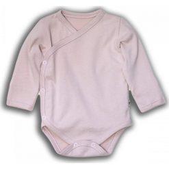 Body kimono z długim rękawem ROSE r. 56 (NOR-02/56). Czerwone body niemowlęce Nanaf Organic, z długim rękawem. Za 42.27 zł.