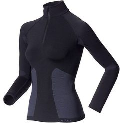 Odlo Koszulka tech. Odlo Shirt l/s  1/2 zip EVOLUTION WARM - 180981 - 180981XS. Bluzki damskie Odlo. Za 230.75 zł.