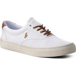 Tenisówki POLO RALPH LAUREN - Thorton 816713107002 White. Białe trampki męskie Polo Ralph Lauren, z gumy. W wyprzedaży za 239.00 zł.