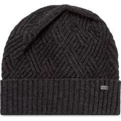 Czapka BOSS - Beanie-Cableknit 50371438  010. Szare czapki i kapelusze męskie Boss. W wyprzedaży za 229.00 zł.