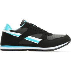 Czarno-Niebieskie Buty Sportowe Dark Horse. Czarne buty sportowe chłopięce Born2be, z materiału. Za 49.99 zł.