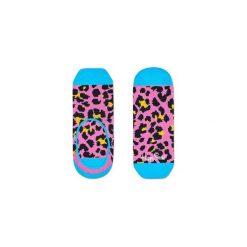 Skarpetki LINER Happy Socks LEO06-3000. Szare skarpety męskie Happy Socks, w kolorowe wzory. Za 19.53 zł.