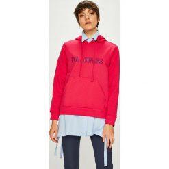 Trendyol - Bluza. Różowe bluzy damskie Trendyol, z aplikacjami, z bawełny. W wyprzedaży za 59.90 zł.