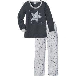 Piżama bonprix antracytowy melanż. Piżamy damskie marki MAKE ME BIO. Za 69.99 zł.