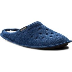 Kapcie CROCS - Classic Slipper 203600  Cerulean Blue/Oetmeal. Niebieskie kapcie damskie Crocs, z materiału. Za 129.00 zł.
