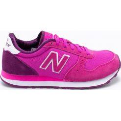 New Balance - Buty WL311OEC. Różowe obuwie sportowe damskie New Balance, z materiału. W wyprzedaży za 229.90 zł.