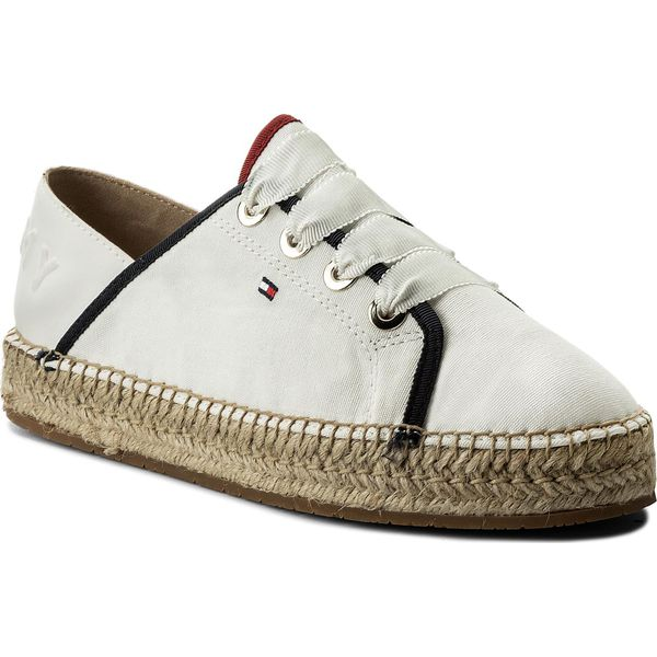 abcf3ce01a235 Espadryle TOMMY HILFIGER - Th Metallic Lace Up Espadrille FW0FW02218 ...