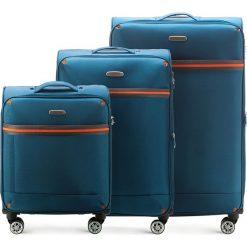 Zestaw walizek 56-3S-49S-95. Szare walizki damskie Wittchen. Za 564.51 zł.