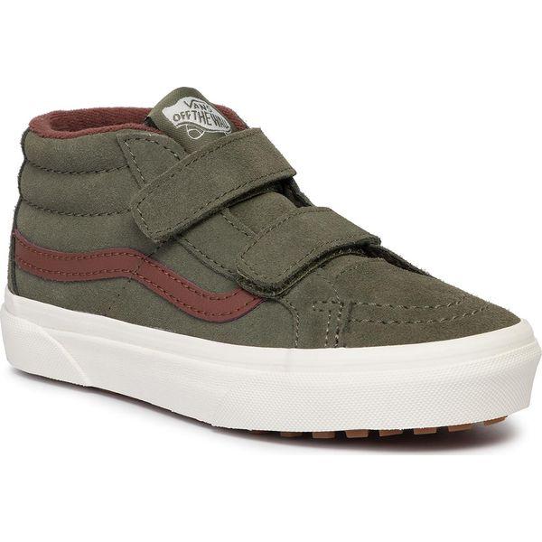 Sneakersy VANS Sk8 Mid Reissue V VN0A3TL4V401 (Mte) Deep Lichen GrRt Br