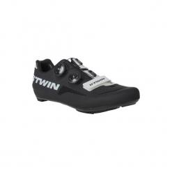 Buty na rower szosowy 700 AEROFIT. Czarne buty sportowe męskie B'TWIN, z poliamidu. W wyprzedaży za 399.99 zł.
