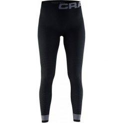 Craft Spodnie Termoaktywne Warm Intensity Black M. Czarne spodnie snowboardowe damskie Craft, ze skóry, sportowe. W wyprzedaży za 139.00 zł.
