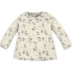 Koszulka w kolorze szarym. Szare bluzki dla dziewczynek Bondi, z okrągłym kołnierzem, z długim rękawem. W wyprzedaży za 45.95 zł.