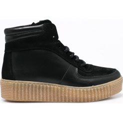 Pieces - Buty. Czarne obuwie sportowe damskie Pieces, z gumy. W wyprzedaży za 179.90 zł.