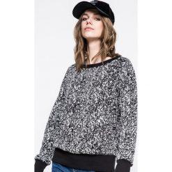Reebok - Bluza. Szare bluzy damskie Reebok, z bawełny. W wyprzedaży za 139.90 zł.