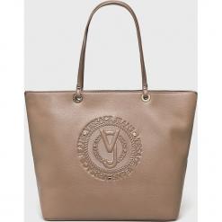 Versace Jeans - Torebka. Szare torby na ramię damskie Versace Jeans. Za 499.90 zł.