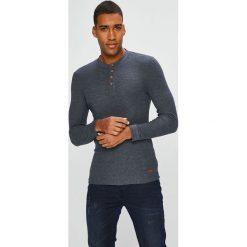 Medicine - Longsleeve Scandinavian Comfort. Czarne bluzki z długim rękawem męskie MEDICINE, z bawełny, z okrągłym kołnierzem. Za 79.90 zł.