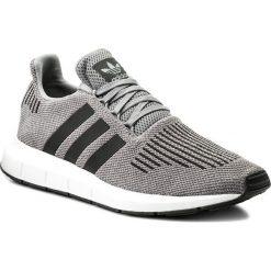 Buty adidas - Swift Run CQ2115 Grethr/Cblack/Mgreyh. Buty sportowe męskie Adidas, z materiału. W wyprzedaży za 259.00 zł.