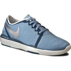 Buty NIKE - Lunar Sculpt 818062 405 Blue Grey/Metallic Silver. Niebieskie obuwie sportowe damskie Nike, z materiału. W wyprzedaży za 289.00 zł.