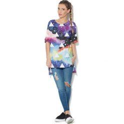 Colour Pleasure Koszulka CP-033  67 granatowo-fioletowa r. uniwersalny. T-shirty damskie marki Colour Pleasure. Za 76.57 zł.