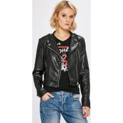 Guess Jeans - Kurtka. Szare kurtki damskie Guess Jeans, z jeansu. W wyprzedaży za 539.90 zł.