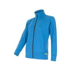 Sensor Bluza Merino Wool 330 W Blue L. Niebieskie bluzy sportowe damskie Sensor. W wyprzedaży za 249.00 zł.