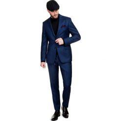 Garnitur MARCO 2 GXGS700008. Niebieskie garnitury męskie Giacomo Conti, z wełny. Za 1,498.00 zł.