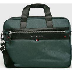 Tommy Hilfiger - Torba. Szare torby na laptopa męskie Tommy Hilfiger, w paski, z materiału. Za 539.90 zł.