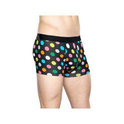 Bielizna męska Happy Socks - Big Dot Trunk (BDO87-9002). Szara bokserki męskie Happy Socks, z materiału. Za 79.90 zł.