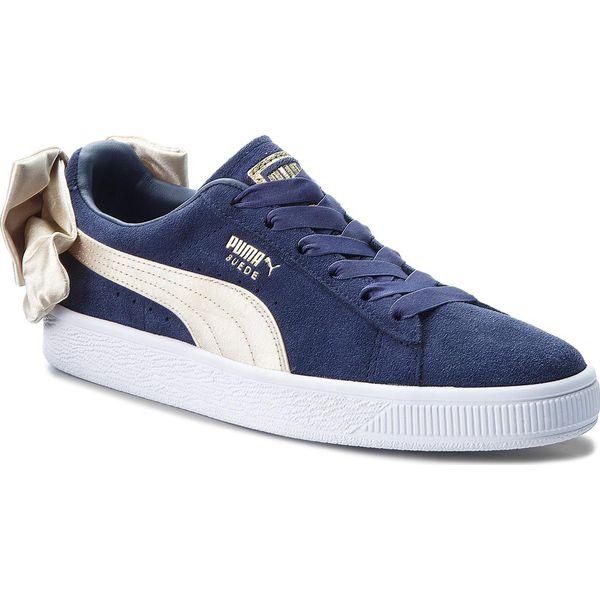 Sneakersy PUMA Suede Bow Varsity Wn's 367732 02 PeacoatMetallic Gold